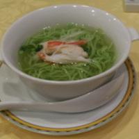 蟹の翡翠麺