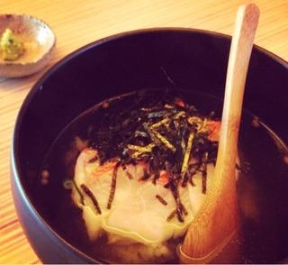 金目鯛の海鮮茶漬け