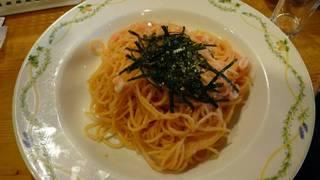 イカと明太子のスパゲッティー