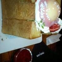 苺ハニートースト