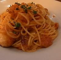 ワタリガニのトマトクリームのスパゲッティ
