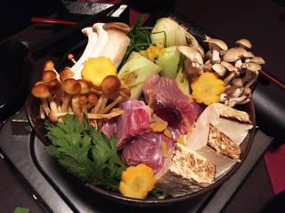 新鮮葱と鮪ほほ肉の葱鮪鍋