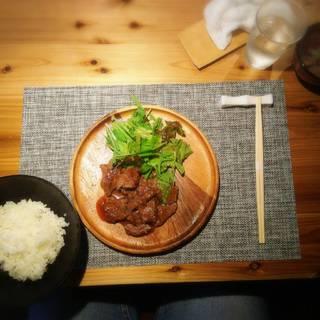 特選黒毛和牛赤身モモ肉のステーキコース