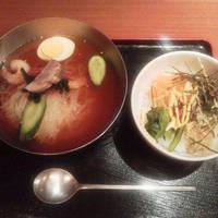 冷麺 ビビンバ