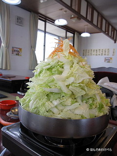 とり野菜味噌鍋