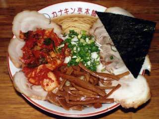 カナキンチャーシュー麺