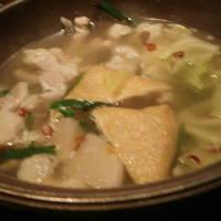 モツ鍋のコース
