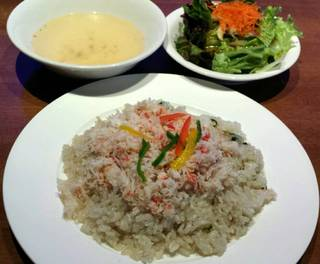 カニピラフ/シーフードレストラン メヒコ有明店