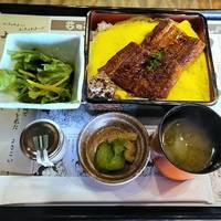 藁焼き鰻重定食