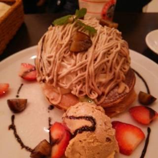 パンケーキ「モンブラン」
