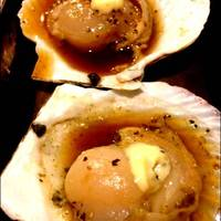 ホタテ貝バター焼き