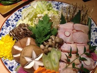 鶏のすき焼き鍋