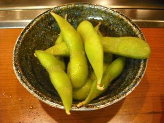 スピードメニュー枝豆