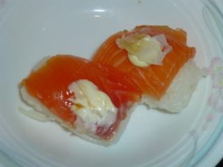 ランチバイキング サーモンのお寿司