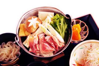 大和肉どり鍋定食