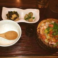 ランチ ぶっかけ海鮮丼