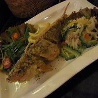 炭焼き魚料理