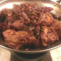 ピリ辛鶏肉鍋