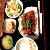 豚生姜焼きランチ