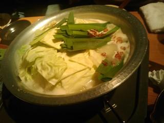 ぷりぷり新鮮 塩もつ鍋