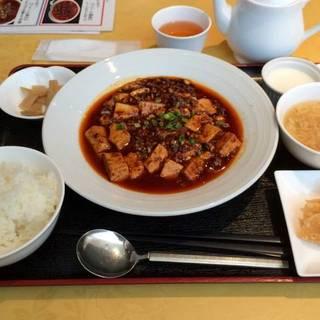 うま辛麻婆豆腐定食
