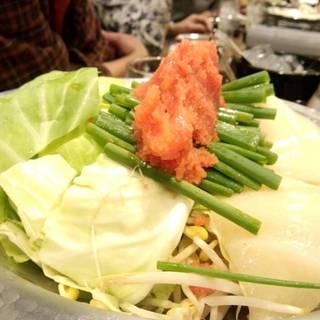 明太モツ鍋