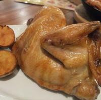 丸鶏のロースト