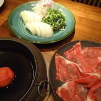 国産牛トマトすき焼き会席