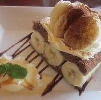 バナナチョコレートショートケーキ