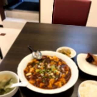 上海蟹肉入りの豆腐煮込み