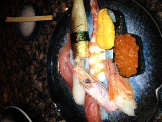 にぎり寿司 8巻盛り
