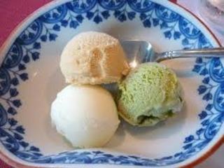 アイスクリーム3種盛合せ