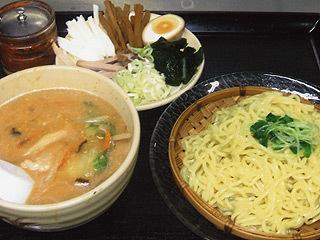 つけ麺(味噌、醤油)
