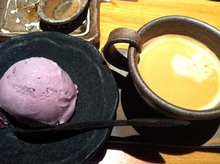 紫いものアイス