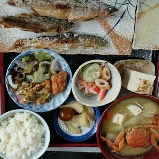 鮎の塩焼き定食