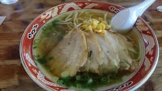 チャーシュー麺醤油