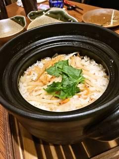 季節の土鍋飯