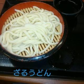 ざるうどん(冷)