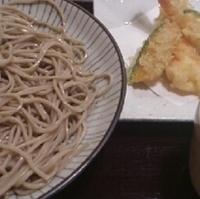 海老天婦羅蕎麦