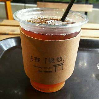 青橙ジャム入り紅茶