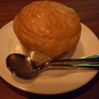 シーフードシチューのホットクリームパイ