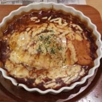 オムライスチーズ&デミグラスソース
