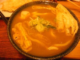 穴子天ぷら醤油うどん