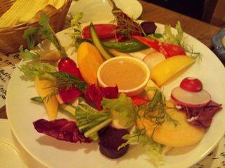 信州野菜のバーニャカウダ