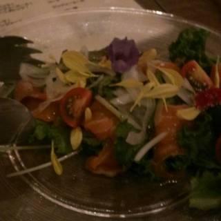 産直葉野菜のサラダ 自家製ドレッシング