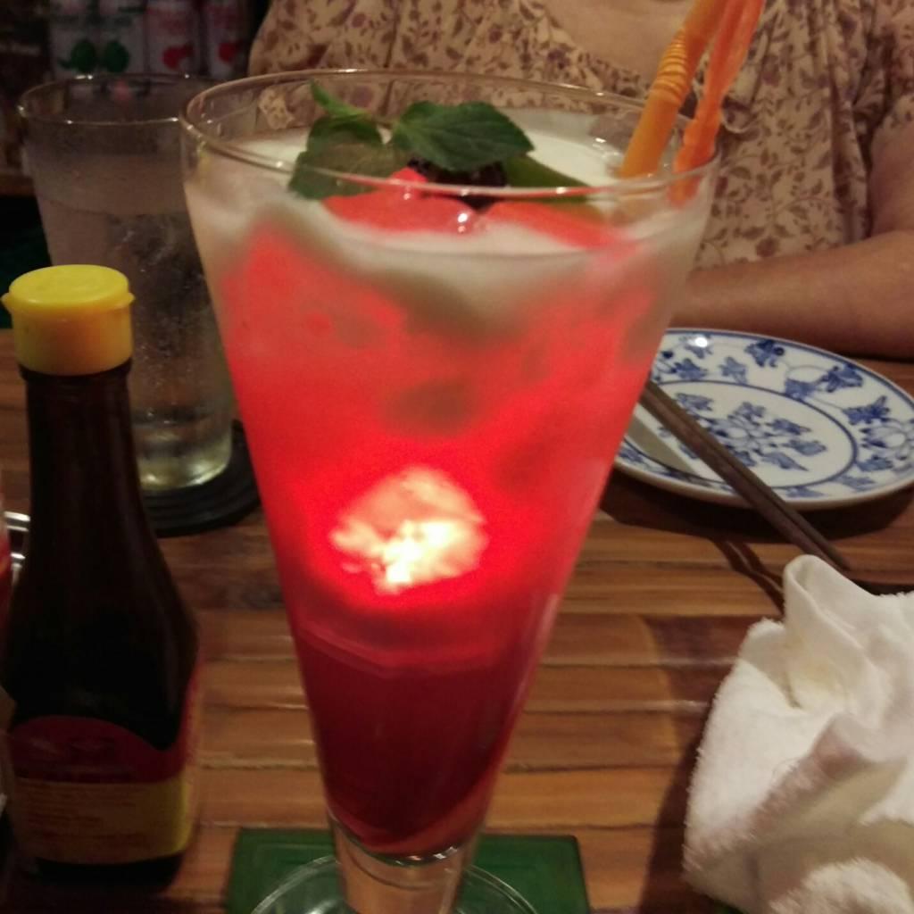 ベトナム料理コムゴン京都の、アオサイというカクテル