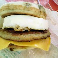 マックグリドル ソーセージ&エッグ・チーズ
