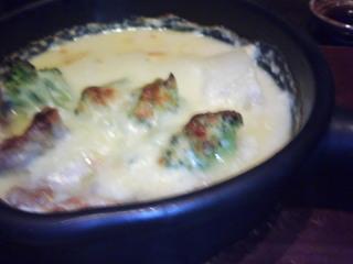 鶏とブロッコリーのクリーム煮