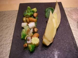 春野菜と筍の焼き物