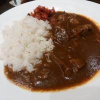 牛たんカレー定食